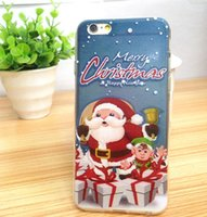 For Apple iPhone apple tree drawing - Hot Iphone Soft TPU Clear Cases Christmas Colorful Drawing Santa Claus Snowman Xmas Tree Fawn Back Cover Case for iphone Plus quot quot