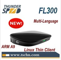 Wholesale 2014 Newest ARM Thin Client Cloud Computer FL300 Dual Core Ghz MB RAM Linux Embedded RDP Protocol