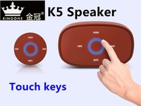 application technology - Kingone K5 APP Wireless Bluetooth Mini Speaker With Unique APP application control technology Tablet iphone ipad Cellphone Phone