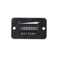 Wholesale Led Battery Indicator Digital LED Battery Status Charge Indicator Monitor Meter Gauge Car Diagnostic Tools Volt