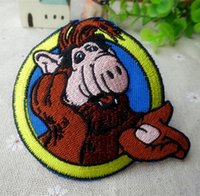 alf clothing - Alf o eteimoso iron on patches single fabric clothes patch stickers embroidery