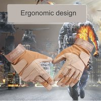 mens sports gloves - Hot Sale Tactical Gloves Outdoor Cover Army Gloves Antiskid Sports Microfiber Mens Sports Gloves Outdoor Tactical Gloves Full Finger Gloves