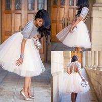 Wholesale Summer Cheap Tulle Skirt Short Party Dress Customized Women Skirts Below Knee Maxi Skirts For Women
