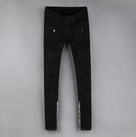 nylon polyester satin ribbon - Balmain New Arrival Skinny Jeans Pants Apparel Cotton Ultra Elastic Womens Long Casual Denim Jeans back Women Jeans