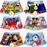 Wholesale Hot selling kids underwear boys girls briefs mix colors kids panties kids boys underwear