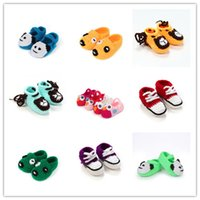 baby doll shoes - Europe and the United States new children hand woven shoes shoes Bao Baoxie cartoon doll shoes baby CROCHET shoes
