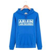 armin van buuren - Hooded Pullover ARMIN VAN BUUREN Rock Band Brand Hip Hop Spring Autumn Winter Hoodies Men Cotton Sports Sweatshirts