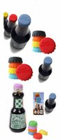 Wholesale hot sale New idea Soft Silicone Bottle Cap Wine Beer Saver For Kitchen Bar mix color