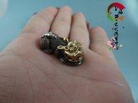 Wholesale Antique collectibles copper gilt silver gilt pendant Lucky evil brave little hand pieces old antique miscellaneous items