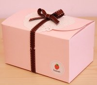 bakery container - Cupcake Paper boxes muffin cake box cake container food bakery packaging for wedding and festival party supplies