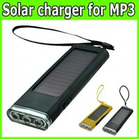 solar flashlight radio phone charger - Portable Solar Flashlight Power Charger Power bank For Radio Phone MP3 Digital Camera