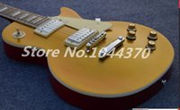 beginner stocks - New highest quality top Quality gold Yellow SlASh paul Electric Guitar in stock