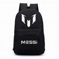 Wholesale Barcelona Messi backpacks waterproof jansport backpack men women travel bags school bags mochila for teenage boys girls kids