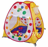 Cheap Wholesales 3 pcs lot Toy Play tents play house Colorpoint game house children baby's playing Indoor&Outdoor christmas gift ZP015