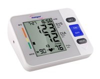 arm rates - LCD Upper Arm Digital Blood Pressure Monitor Irregular Heart Beat Detector Cuffs Diastolic Systolic Meter Pulse Rate Gauge Sphygmomanometers