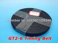Wholesale GT2 open belt GT2 open timing belt width mm meters volume Free shiping