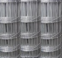 wire mesh fence - Anjia Wire Net Knotted Wire Mesh Fences Field Wire Mesh Hot Dipped Galvanized H M Roll L M Roll Wire