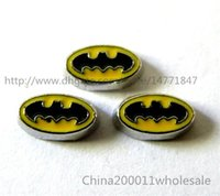 batman memory - 10pcs Batman Floating Charms FC290 mm Fit Charms Locket Memory Living Magnet Glass Floating Locket