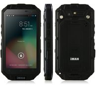 Wholesale Original iMAN i3 IP68 Rugged Waterproof Shockproof Phone QHD Android MTK6589T Quad Core GB GB MP GPS WCDMA G