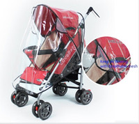 baby trend accessories - Universal Baby Cart Rain Wind Cover Trend Plastic Baby Stroller Cover baby stroller Uv protection waterproof cover
