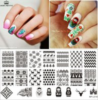 art doll patterns - Russian Doll Sweater Pattern Nail Art Stamp Template Image Plate BORN PRETTY BP L018 x cm