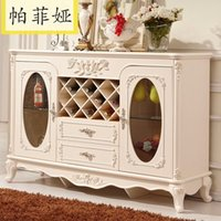 bedroom side cabinets - Paphia French meal kitchen cabinet cabinet side cupboard European style cabinets JLW601