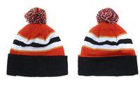 baseballs ravens - New Purple One size Ravens Beanie Hats With POM Sport Knit Team Cuff Knit Beanie Baseball Caps Football beanies Caps Winter warm hats