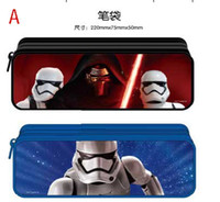 Wholesale Star wars Pencil Bags student stationery Pencil Cases best gift For Children in stock C306