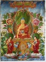 Wholesale Tibet Tibetan Buddhist Medicine Buddha Thangka