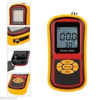 Wholesale GM63B Vibration Meter Vibrometer Gauge Tester Temperature Meter m s2peak
