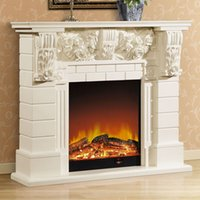 antique furniture manufacturers - 1 m high end European style fireplace wood carving decorative antique American furniture custom manufacturers