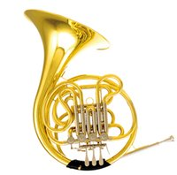 Wholesale Double Row French Horn Valves F Bb Tone With ABS case Musical instruments shipping time days