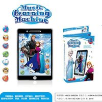 sound machine - Frozen D English Learning Machine Tablet toys Computer educational TOY for Kids wtih movie sound and music