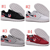 olympic flag - 2015 nikeid Roshe Run American Flag Shoes Men And Women USA Flag Summer Breathable Sneakers London Olympic Roshe Running Shoes