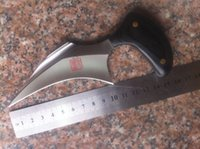 buck knives - karambit claw knife Outdoor hunting camping survival knives microtech fox spyderco buck knife knives