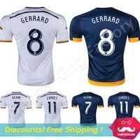 los angeles - Thai quality LA Galaxy soccer jersey Los Angeles GERRARD GONZALEZ KEANE ZARDES Los Angeles football shirts
