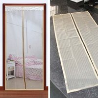 Wholesale 2 Set Magnetic Anti Mosquito Bug Fly Curtain Mesh Net Screen Door