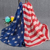american flag scarf - 2015 new fashion print American and British flag voile scarf cheap scarves for women winter pashmina scarves DHL