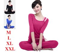 Wholesale new Winter Sleeve fitness sport suits slimming yoga wear leisure wear authentic workout clothes for women
