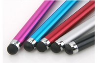 Wholesale 2015 New Metal Stylus Pen Capacitive Screen Touch Pen For Capacitance Screen Phone for iPhone colors