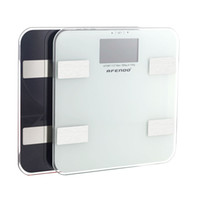 auto recognition - AFENDO Precision GetFit Digital Body Fat Scale Measures Weight Fat Muscle Bone amp Hydration with Auto Recognition Technology