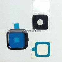 Wholesale New Original Note Edge Camera Frame Holder Lens Cover For Samsung Galaxy Note Black White