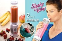 Wholesale 10pcs lot2014 Mini electric juicer fruit juice beverage machine single cup double cup single ring