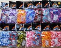 tie dye kit - TIE DYE DHL free lowest price loom bands Kit late tie dye bracelet buckle crochet Y frame Rainbow loom toys children