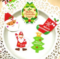 assorted gift tags - 200 Assorted Colorful Merry Christmas X mas Gift Tag Hang Greeting Tag Decorate Labels CH1008E