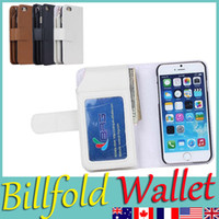 apple iphone - 2015 NEW IPHONE Billfold Wallet Protective PU Flip Leather Case Pretty Design For Apple iPhone S S C Galaxy S5 Note S4 In Stock