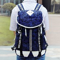 Wholesale New printed canvas knapsack urban outfitters backpack student printed skull high school colorful book bag laptop backpack