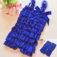 Wholesale Girls Petti Rompers Baby Rompers Infants One piece Baby Jumpsuit Romper Lace Romper Leg Warmer set Baby Tutu Clothing