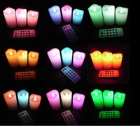 electronic candle - Changing Color LED Electronic Flameless Smokeless Candle Light Remote Control