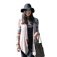 air conditioning shirt - New Aztec sleeve women Cardigan Female Long Asymmetrical Knitted Sweater casual Cardigans Sweaters Air conditioning Shirts